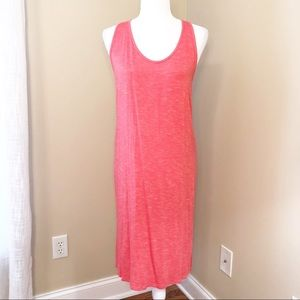 Anthropologie Coral Knit Tank Dress - Medium